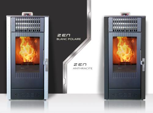 Poêle à granulés Hoben H7 Evolution Zen