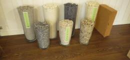 Isolation combles perdus avec isolants écologiques en vrac utilisés par planète isolation : ouate de cellulose, laine de mouton, laine de coton
