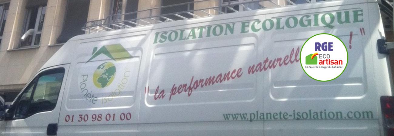 Isolation par soufflage - Eco-artisan