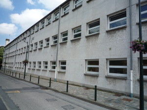 Facade école Bièvres coté rue, avant travaux