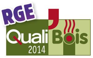 Logo qualibois RGE 2014