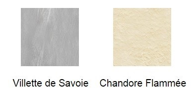 deux types de pierres